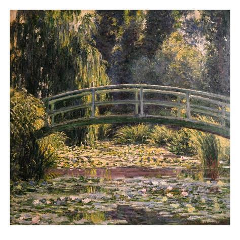 The Japanese Footbridge, Giverny Giclee Print