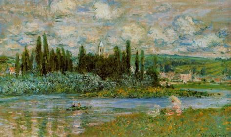 The Seine River Art Print
