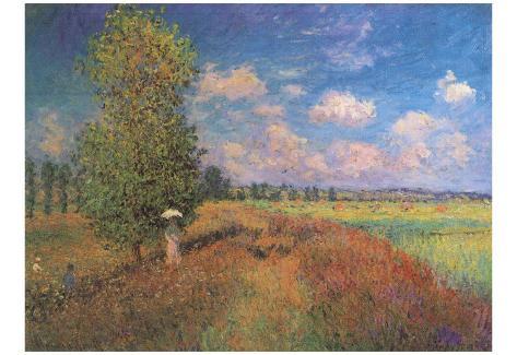 Claude Monet (The Summer, Field of Poppies) Art Poster Print Poster