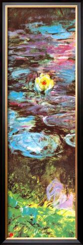 Water Lilies (detail) Framed Art Print