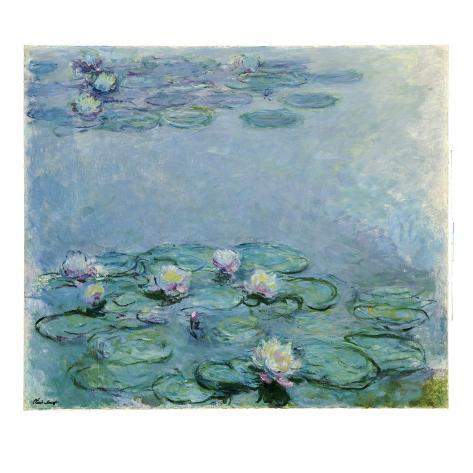 Water Lilies Giclee Print