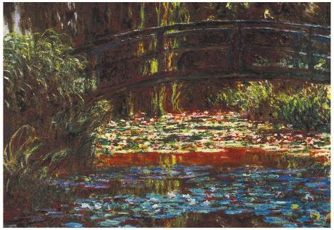 Claude Monet Water Lily Pond #1 Art Print Poster Poster