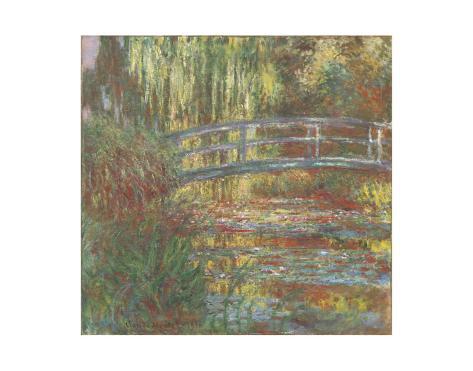 Water Lily Pond, 1900 Art Print