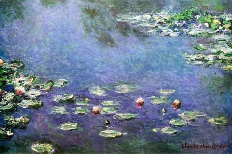 Waterlelies Poster