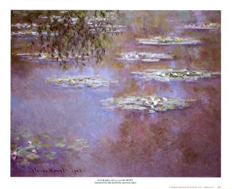 Waterlilies, 1903 Art Print