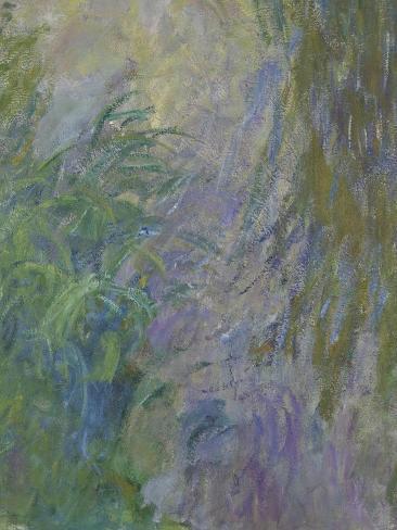 Waterlilies (Detail) Lámina giclée