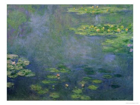 Waterlilies Giclee Print