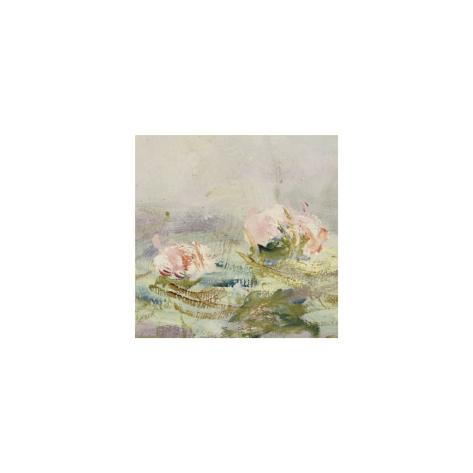 Waterlily Pond, 1908 (detail) Art Print