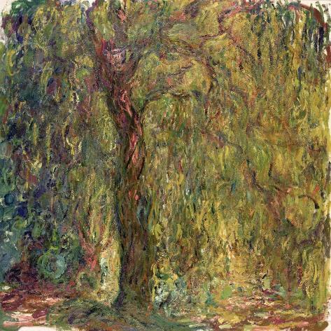 Weeping Willow, 1918-19 Lámina giclée