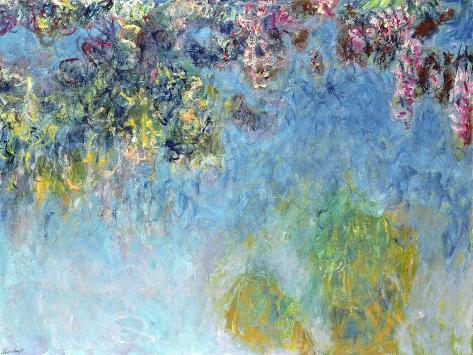 Wisteria, 1920-25 Lámina giclée