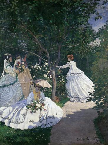 Women in the Garden Giclee Print