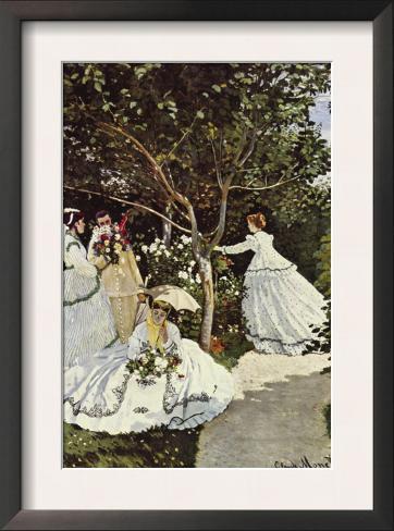 Elegant Women In The Garden Pictures Gallery