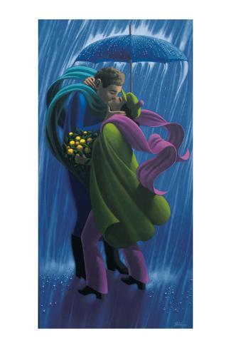The Rain Shower Art Print