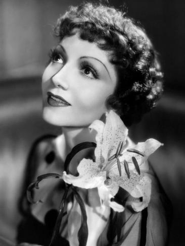 Claudette Colbert, c.1935 Photo