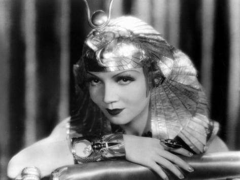Claudette Colbert: Cleopatra, 1934 Fotoprint
