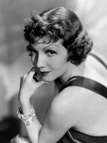 Claudette Colbert, March 22, 1935 Photo