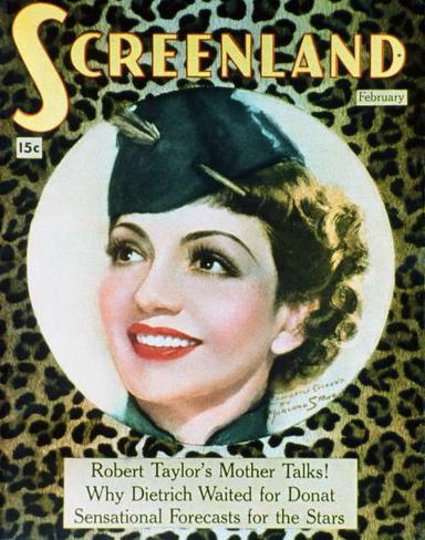 Claudette Colbert - ScreenlandMagazineCover1930's Masterprint