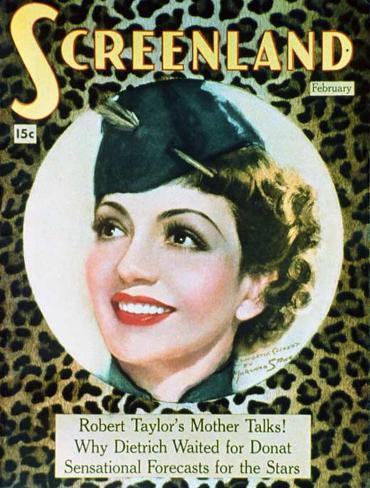 Claudette Colbert - The New Movie Magazine Cover 1930's Framed Art Print