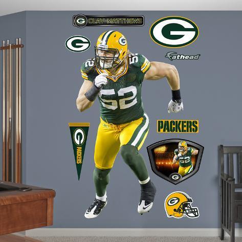Clay Matthews 2011 Edition Wall Decal