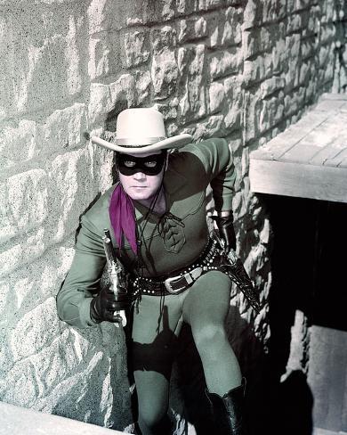 Clayton Moore, The Lone Ranger (1956) Photo