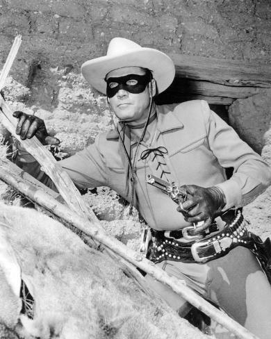 Clayton Moore - The Lone Ranger Photo