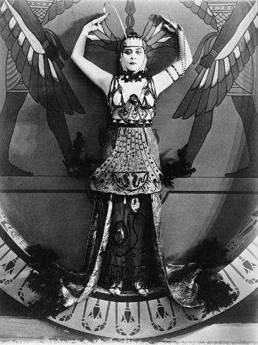 Cleopatra, 1917 Photographic Print