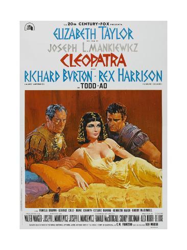 Cleopatra, 1963, Directed by Joseph L. Mankiewicz Giclee Print