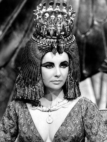Cleopatra, Elizabeth Taylor, 1963 Photo