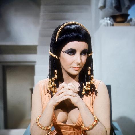 Cleopatra, Elizabeth Taylor, Directed by Joseph L. Mankiewicz, 1963 Fotografía