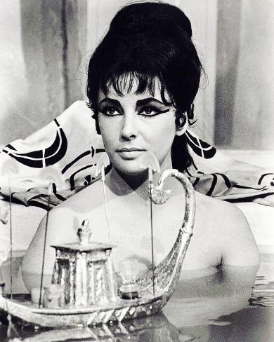 Cleopatra, Elizabeth Taylor Fotografía