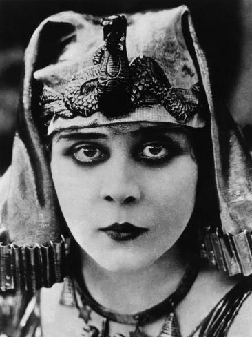 Cleopatra, Theda Bara, 1917 Framed Art Print