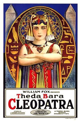 Cleopatra, Theda Bara Poster