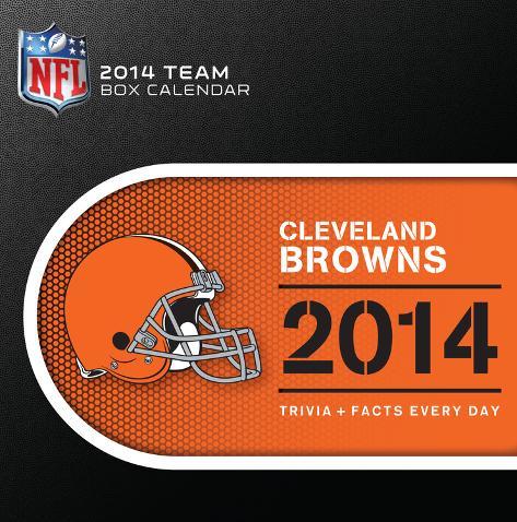 Cleveland Browns - 2014 Box Calendar Calendars