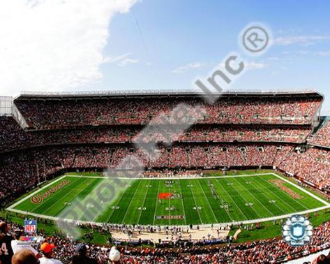 Cleveland Browns Stadium 2008 Framed Photographic Print