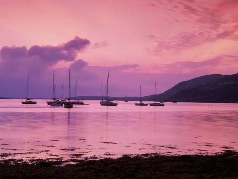 Clifden Bay, Connemara, Ireland Photographic Print