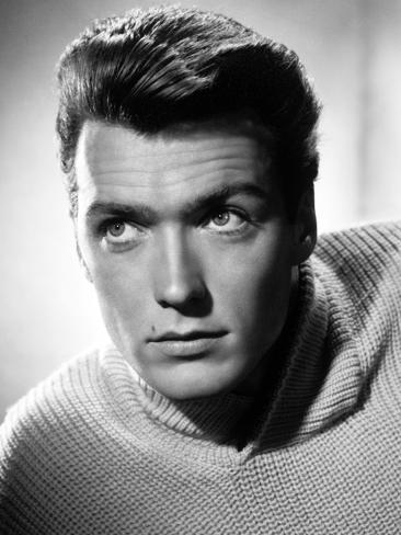 Clint Eastwood, 1955 Photographic Print