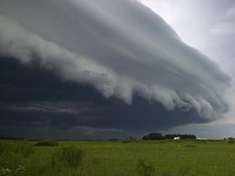 Shelf Cloud, Minnesota, USA Photographic Print