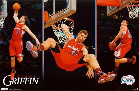 Clippers - B Griffin - Dunk 2011 Poster