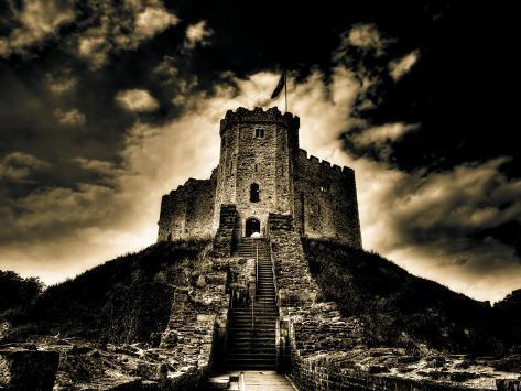 Cardiff Castle 1 Photographic Print