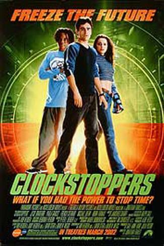 Clockstoppers Double-sided poster