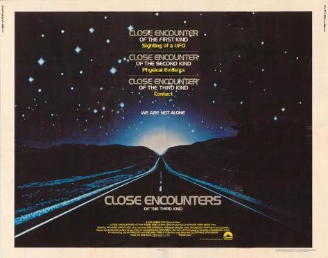 Close Encounters of the Third Kind -  Style Poster