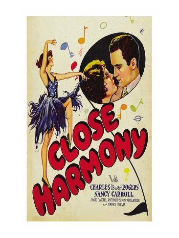 Close Harmony Premium Giclee Print