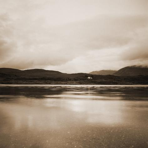 Cloudy Skies Over Loch Etive Photographic Print