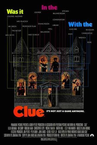 Clue - mordet är fritt Poster