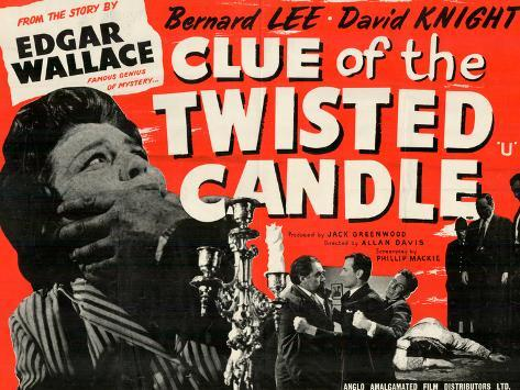 Clue of the Twisted Candle Art Print