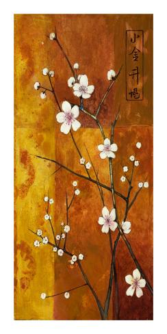 Cerezos en Flor VI Art Print