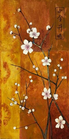 Cerezos en Flor VI Stretched Canvas Print