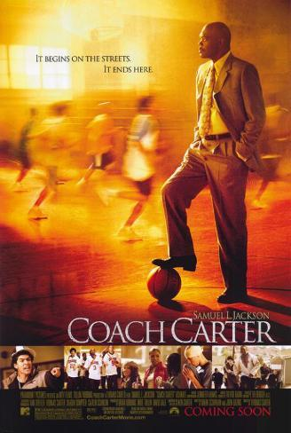 Coach Carter Masterprint