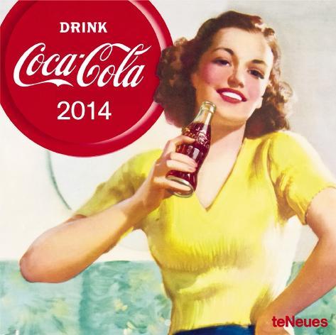 Coca-Cola - 2014 Calendar Calendars