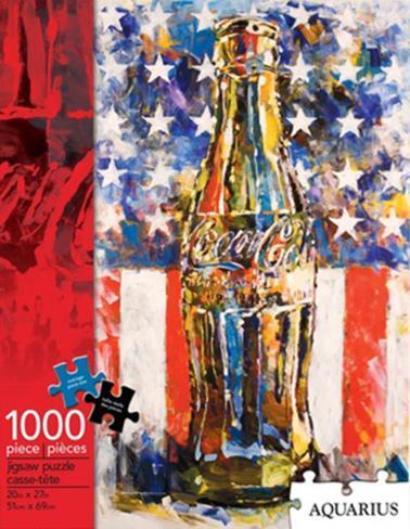 Coca Cola Art Jigsaw Puzzle